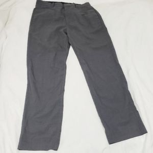 Wool Gap Solid Gray Dress Pant Trousers